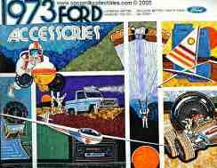 1973 Ford Car Accessories Brochure