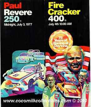 1977 Fire Cracker 400 Brochure