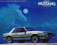 1979 Ford Mustang New Car Brochure Cobra Ghia
