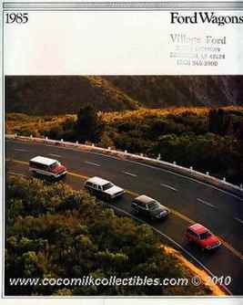 1985 Ford Wagons Brochure