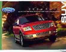 2004 Ford SUV Brochure