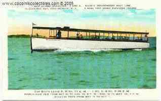 New Island Wanderer Boat 1000 Islands NY 1910s Postcard