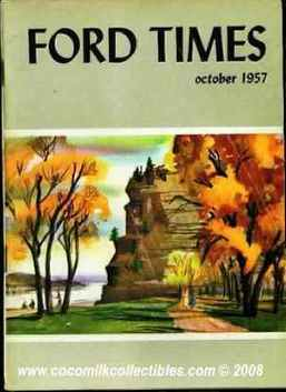 1960 Ford Times Magazine January