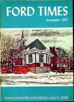 1960 Ford Times Magazine March