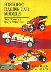 Historic Racing Car Models Hardcover Book 1976