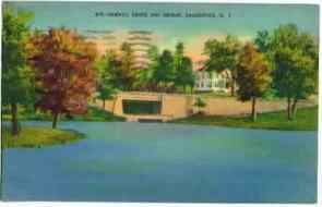 1943 Saugerties New York Sawkill Creek Postcard