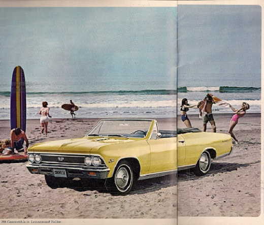 1966 Chevelle Car Brochure