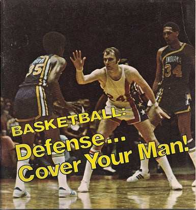 Defense Cover Your Man Basketball Book 1973