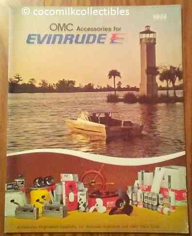 1974 OMC Accessories For Evinrude