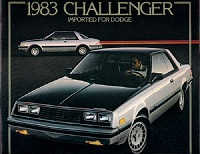 1983 Dodge Challenger Brochure 1983 Dodge Challenger Brochure ...