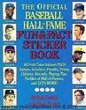 Baseball Hall of Fame Sticker Book 1989