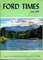 1960 Ford Times Magazine June