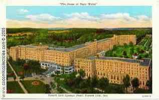 French Lick Springs Hotel Indiana Postcard 1920s