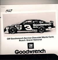 Jeff Green Earnhardt Press Kit 1995