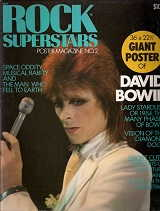 1975 Rock Superstars David Bowie Poster
