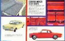 1961 Chevy Corvair Car Brochure - Click Image to Close