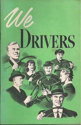 We Drivers Booklet by GM 1959